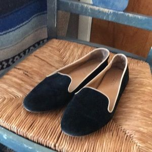 Black J.Crew Flats *re-posh*